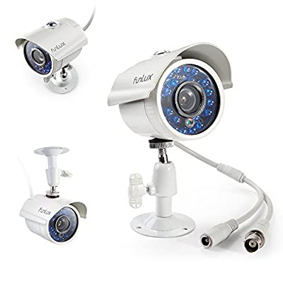 Funlux 8CH 960H Video DVR QR Code Weatherproof Security System with Built-in IR CCTV Cameras