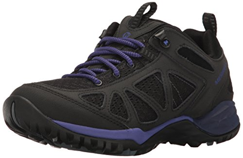 Merrell Women's Siren Sport Q2 Shoe - Black/Liberty - 7 B...