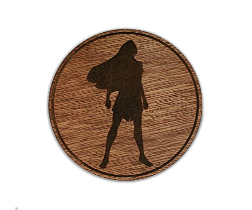 Princess Pocahontas - Indian Tribe - Native American - Custom Wooden Coaster Set