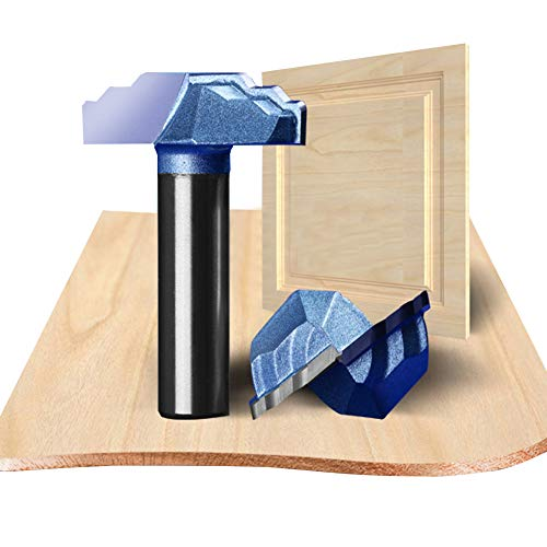 - HUHAO 1/2 Shank 30mm cutting diameter router bit Drawer and Cabinet Door Front Edging Classical Router Bit