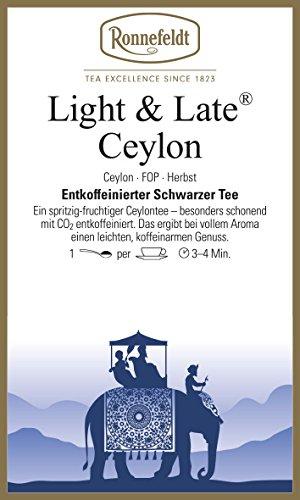 Ronnefeldt - Light & Late® Ceylon FOP - Schwarzer Tee aus Ceylon - 100g