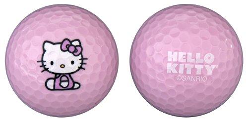 "Hello Kitty Golf ""The Collection"" Golf Balls Individual Box 6 Balls, Outdoor Stuffs"