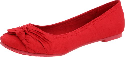 Ballet Red Dog Flat Dark Memories Women's Rocket Z8R6F8
