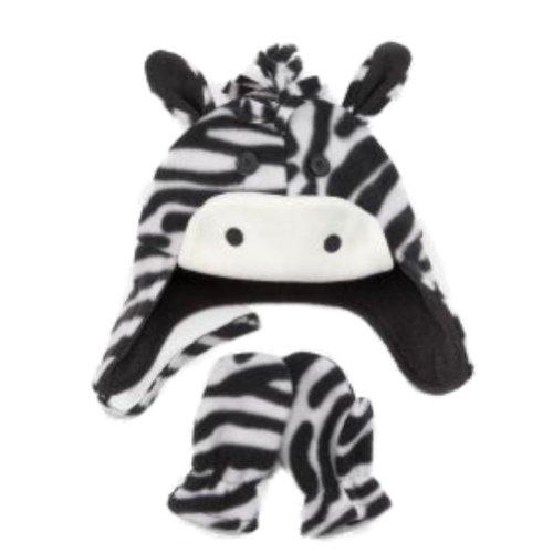 Buy zebra print baby mittens
