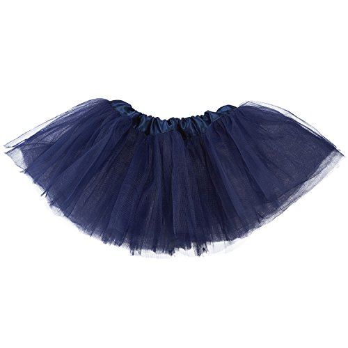 My Lello Baby 5-Layer Ballerina Tulle Tutu Navy (0-3 mo.) (Newborn Old Navy)