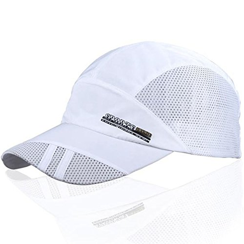 YING LAN Men's Summer Outdoor Sport Baseball Hat Running Visor Sun Cap - Mens Visor Running