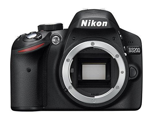 Nikon D3200 Digital SLR Camera Body Only – Black (24.2MP) 3 inch LCD (Renewed)