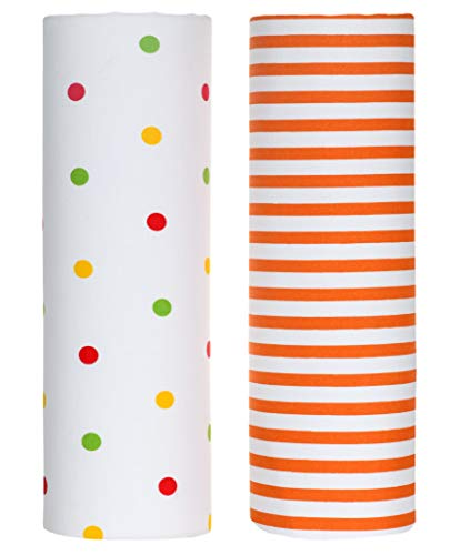 Sheet Polka Dot Crib Fitted - Cuddles & Cribs 2 Pack Cotton Rich Fitted Crib Sheet - Polka Dots