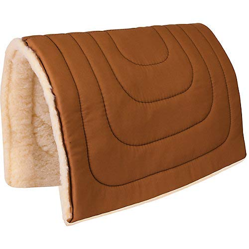 Mustang Canvas Fleece Pack Pad Brown