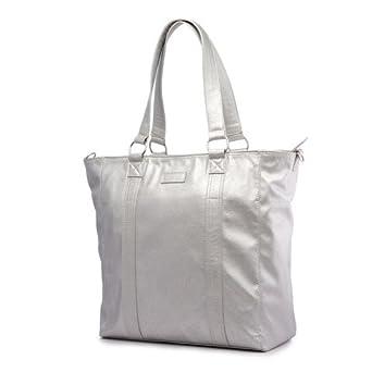 09477e80bc9 Mia Tui Amelie Silver Large Tote / Travel Bag: Amazon.co.uk: Clothing