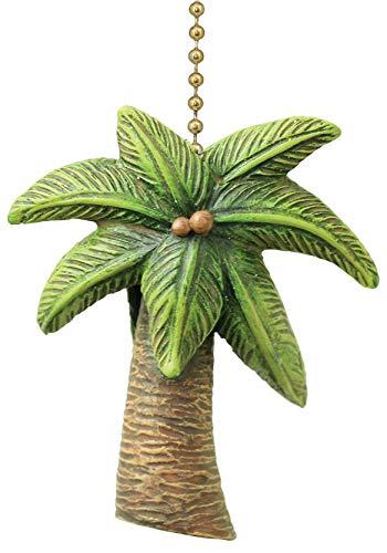 Tropical Palm Tree Fan Pull ()
