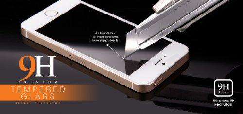 Samsung Galaxy A5 Modell 2016 / A510F - bayo Premium Gorilla Glas Display-Schutzfolie aus gehärtetem Panzerglas - Hart-Glas - Tempered-Glass - Top-Schutzglas gegen Kratzer mit Härtegrad 9H (0,33 mm gerundete Kanten) Schutzfolie Displayschutzglas