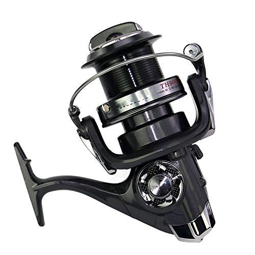 - 8000-11000 Spin Sea Fishing Spinning Reel Metal Spool Big Saltwater Catfish Fishing Reel Wheel One,Other