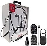 Beats by Dr. BeatsX Wireless in-Ear Headphones - Black - with Dual Car Adapter & Ear Gel,Lighting USB Kit (Certified Refurbished)