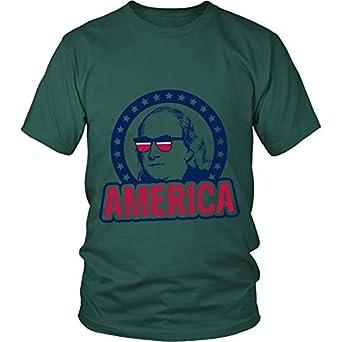 Funny America T Shirts - Ben Franklin T Shirt | Amazon.com