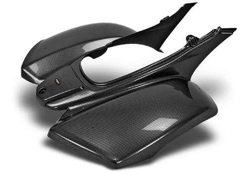MAIER Rear Fender Carbon Fiber Kawasaki KFX-700 04-09