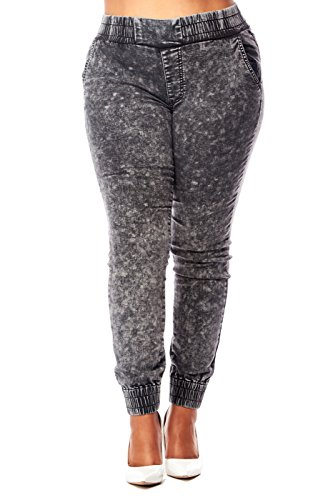 Womens Ladies Waisted Joggers IP2149X