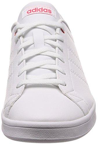 Femme Adidas 000 Chaussures Clean Qt Blanc ftwwht Advantage Tennis shored De ftwwht BnYqp