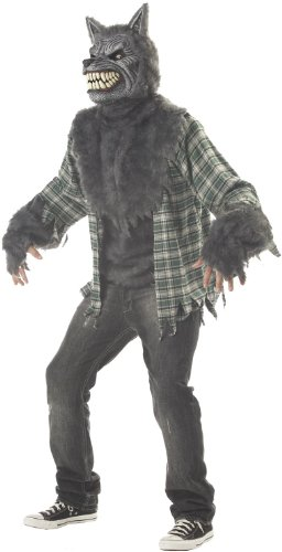 [Full Moon Madness Costume - Large - Chest Size 42-44] (Werewolf Costume Shirt)