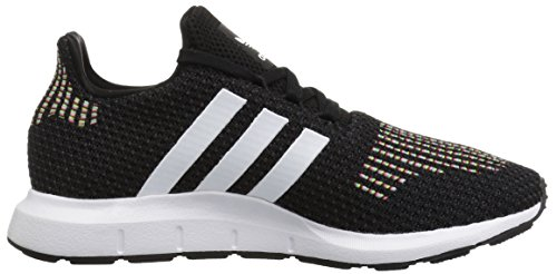 Adidas Donne Swift Run W Nucleo Nero / Bianco / Interno Nero