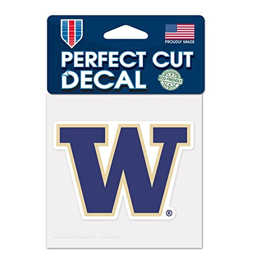 WinCraft NCAA University of Washington Perfect Cut Color Decal, 4