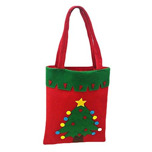La Faits Bonbons Sac Da Épais Des Sacs cadeaux Main Noël Décoration Blanc À wa De 1PpwqYzP