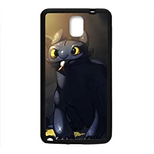 Lovely black greedy cat Cell Phone Case for Samsung Galaxy Note3