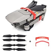 Longay 8331F Propellers & Props Holder Guard For DJI Mavic Pro Platinum Quick Lock TR (Red)