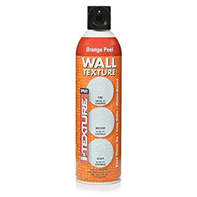 i-Texture TEXT-20ZOP1-06 Orange Peel Spray Texture for Wall patches & Repairs, 20 Oz