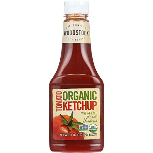 Woodstock Farms Organic Tomato Ketchup -- 14 oz