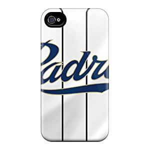 ChristopherWalsh Iphone 4/4s High Quality Hard Cell-phone Cases Custom High Resolution San Diego Padres Image [WZW20183XLyw]