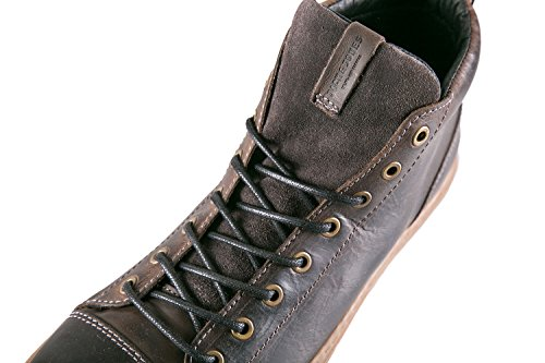 Jack Jones – Zapatillas de Hombre Duran Leather High Sneaker, marrón marrón