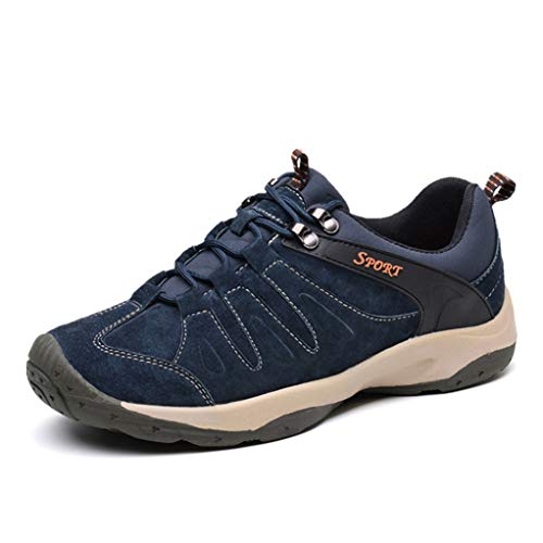 (Giles Jones Men's Climbing Shoes Summer Anti-Slip Breathable Trekking Hiking Shoes)