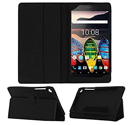 hot sale online 03a97 1b2ad Acm Executive Flip Flap Case for Lenovo Tab 3 730x Tablet Full Cover Black  (ONLY Suitable for Lenovo TAB 3 730X)