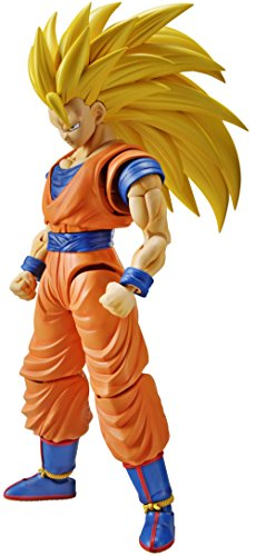 Bandai Hobby Figure-Rise Standard Super Saiyan 3 Son Goku Dragon Ball Z Building Kit - Dragon Figure Model Kit