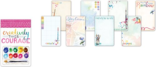 Molly & Rex Large Flip Notepad: