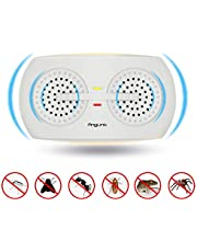 AngLink Ultrasonic Pest Repeller, Plug in Pest Control Mice Control Repellent Pest Deterrent with On/Off Night Light,1500 Square Feet Coverage [2018 New Look]