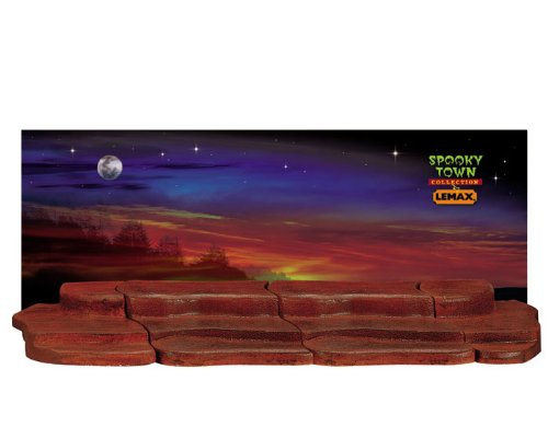 Lemax Spooky Town 4-Foot Display Material - Halloween # 44809 by Lemax