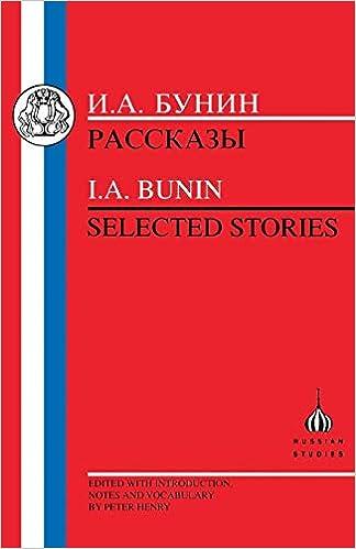 Paginas Descargar Libros Bunin: Selected Stories Formato PDF