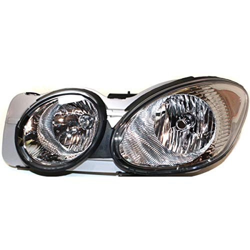 New Left Driver Side Halogen Headlight Assembly For 2008-2009 Buick LaCrosse GM2502341 25942064
