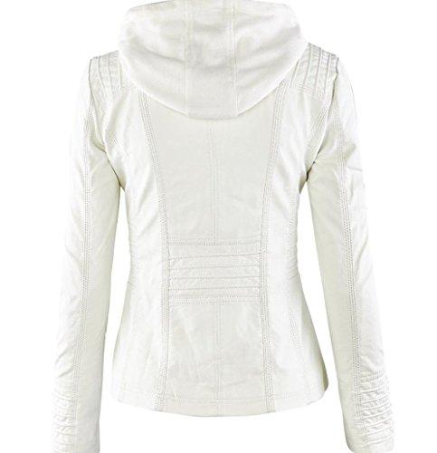 Qingxian Giacca Donna Giacca Bianco Qingxian Giacca Donna Bianco Qingxian qTtUnX