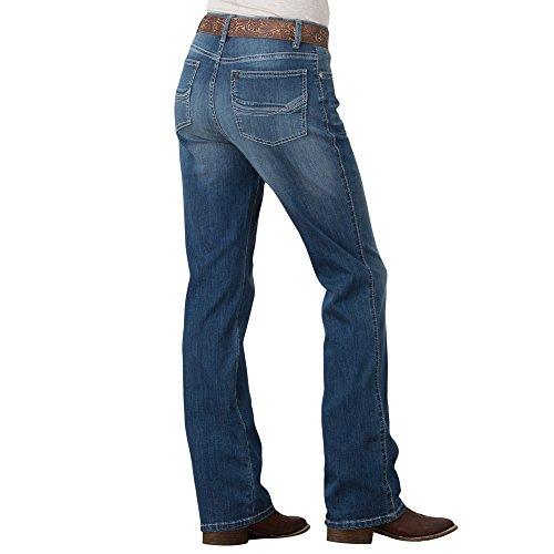Wrangler Women's Aura Instantly Slimming Jeans Indigo 8 - Instantly Jeans Slimming Aura