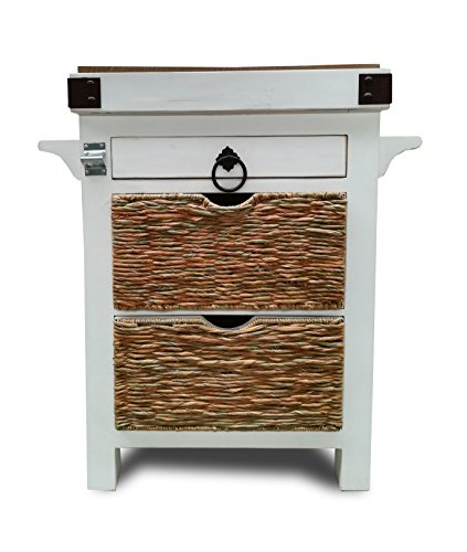 Eagle Furniture Manufacturing KI-37690-AW Clearwater Kitchen Island (Clearwater Furniture)