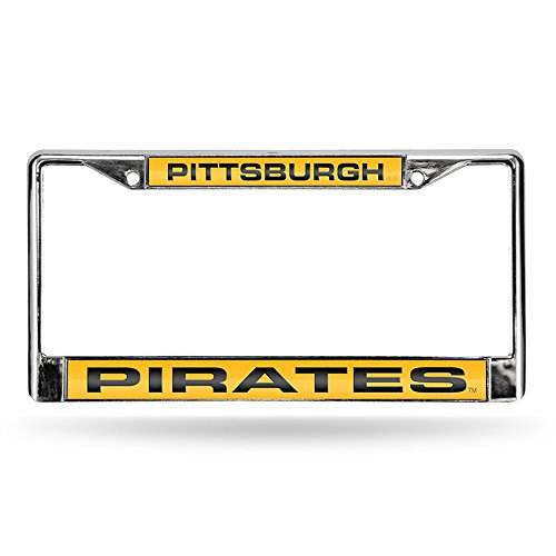 Pittsburgh Pirates MLB Chrome Metal Laser Cut License Plate Frame