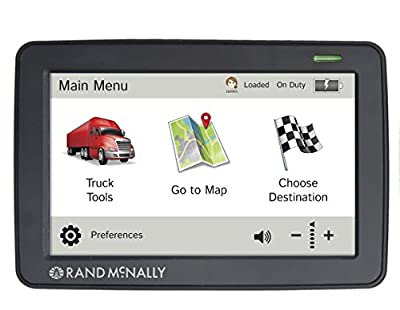 Rand McNally Truck GPS with Lifetime Maps and Wi-Fi