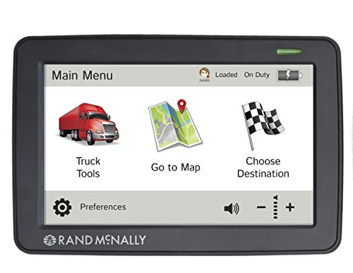 Rand McNally TND530 Truck GPS with Lifetime Maps and Wi-Fi