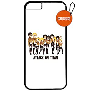Attack on Titan Anime iphone 6 Design Fashion Trend Cool Case Back Cover Plastic/Metal 33
