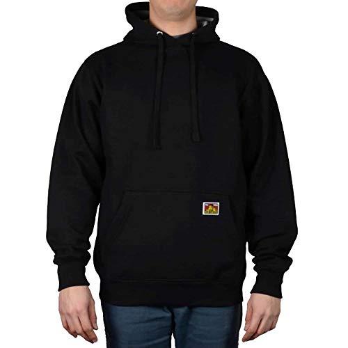 (Ben Davis Men's Heavyweight Hooded Pullover Sweatshirt (X-Large,)