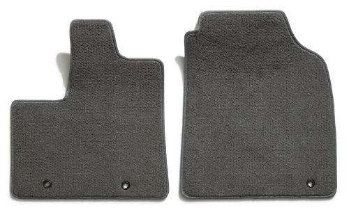 Premier Custom Fit 2-piece Front Carpet Floor Mats for Chrysler and Dodge (Premium Nylon, Gray Mist)