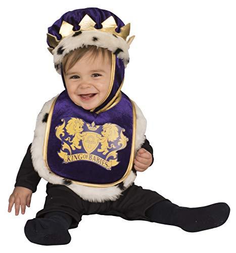 Baby Medieval Costume (Rubie's Costume Baby Bib, Multicolor, 12)
